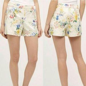 Elevenses Anthropologie floral shorts